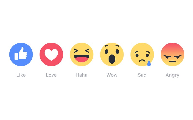 Facebook Reactions - Facebook 'Like' Button Finally Develops other Options