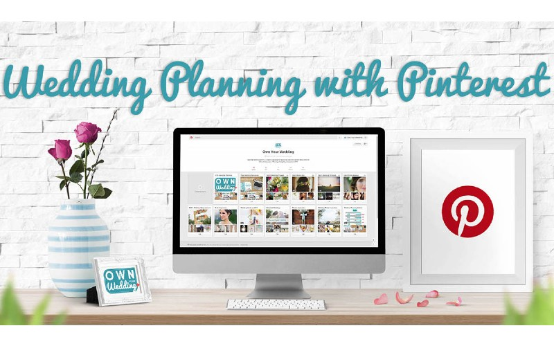 PINTEREST FOR WEDDING PLANNING! MY ESSENTIAL ONLINE TOOL