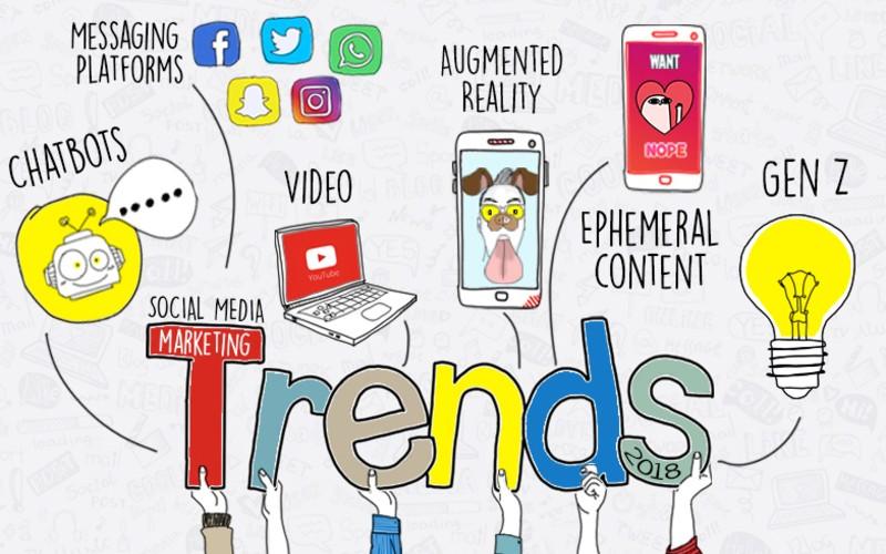 TOP SOCIAL MEDIA TRENDS FOR 2018