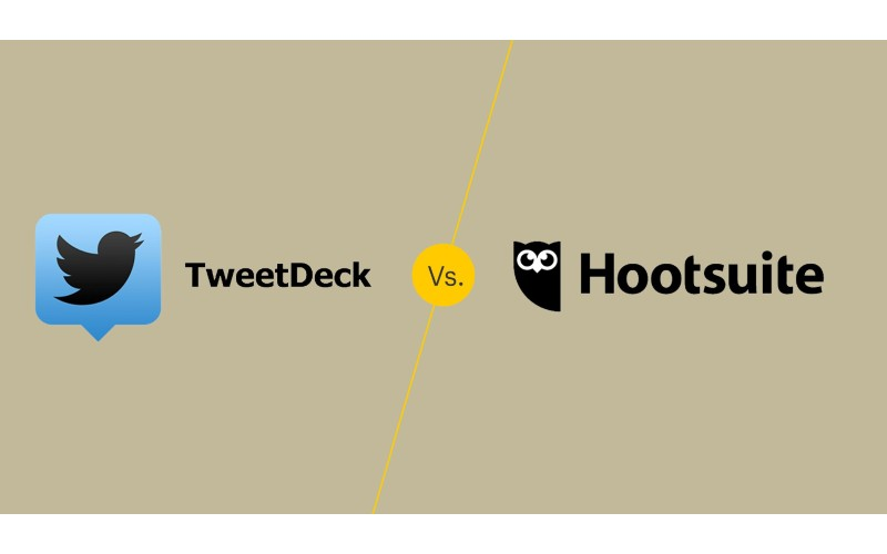 TweetDeck or Hootsuite - Social Media Management
