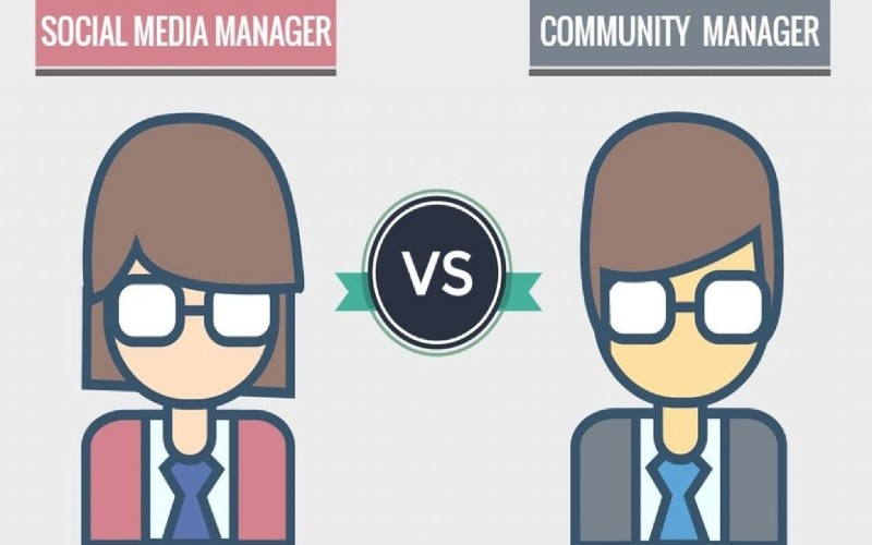 WHAT'S THE DIFFERENCE BETWEEN COMMUNITY MANAGER VS SOCIAL MEDIA MANAGER